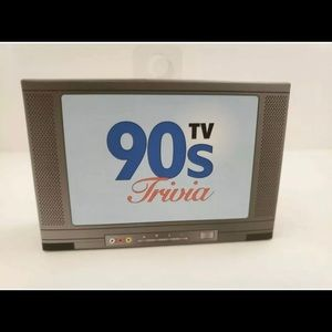 90's TV Trivia: Trivia Game Cards Brand New
